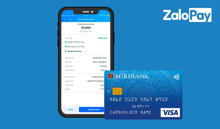 Cách chuyển khoản Agribank miễn phí bằng ZaloPay