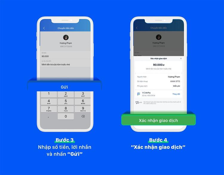 Chuyển tiền bằng mã QR
