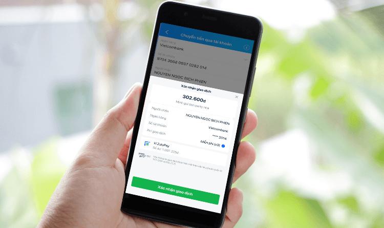chuyển tiền online khi nào nhận được