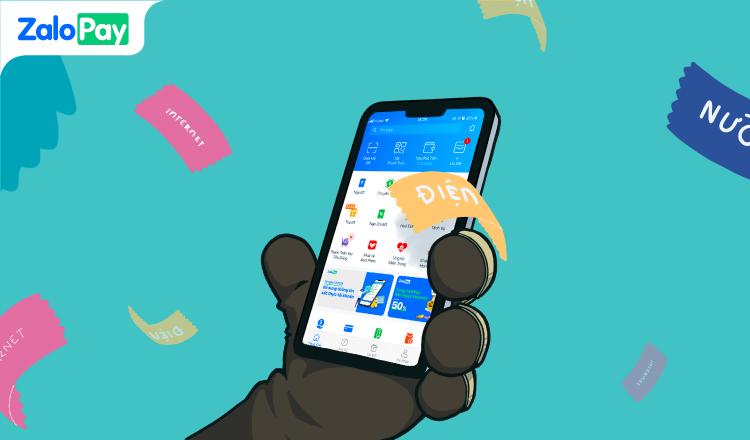 thanh toán hóa đơn trực tuyến qua ZaloPay vừa nhanh vừa tiện, có thể thanh toán qua Zalo