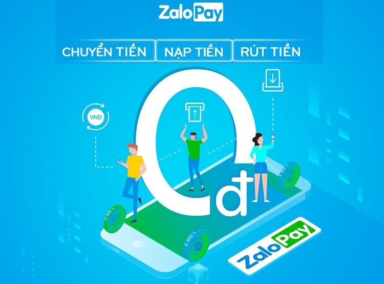 Hướng dẫn chuyển khoản online bằng ví điện tử ZaloPay