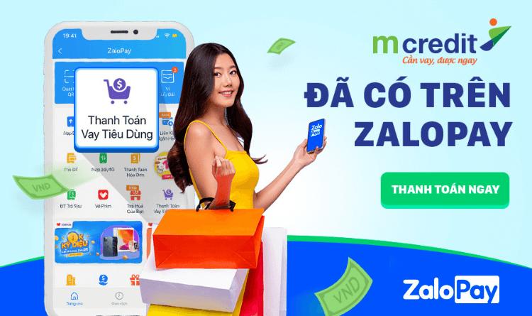Tính năng thanh toán vay tiêu dùng qua ZaloPay